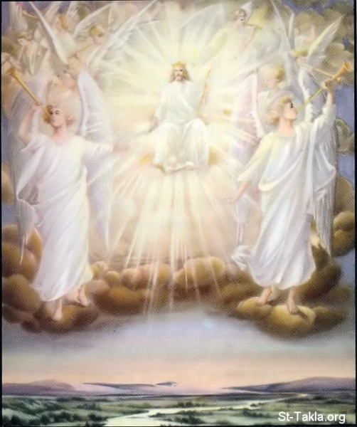 The-Son-of-God-on-his-throne-with-his-angels