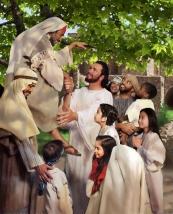 In Jesus' company
