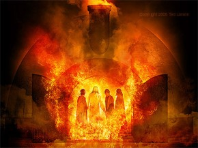 Jesus is In the fire with you