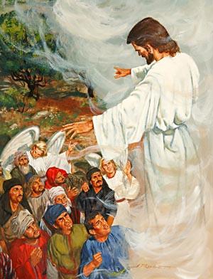 Jesus AscendsTo Heaven