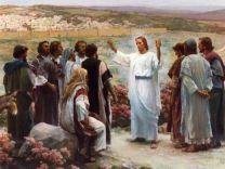 Jesus with desciples
