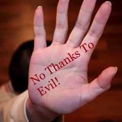 No Thanks Evil